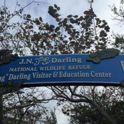 Ding Darling Welcome Sign